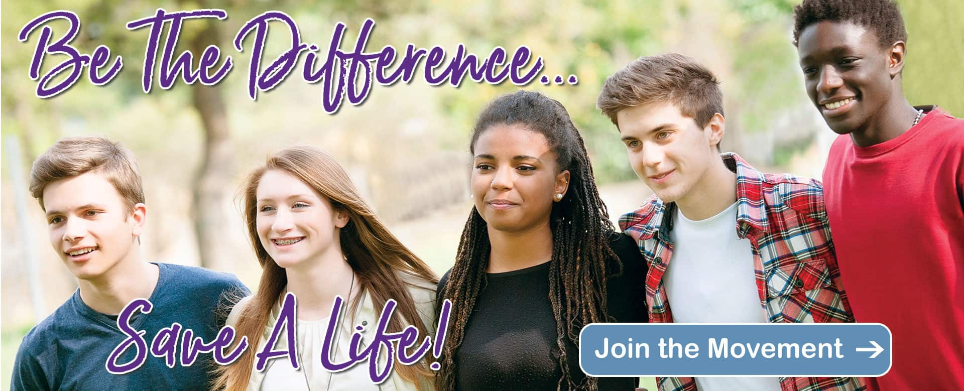 be the difference save a life
