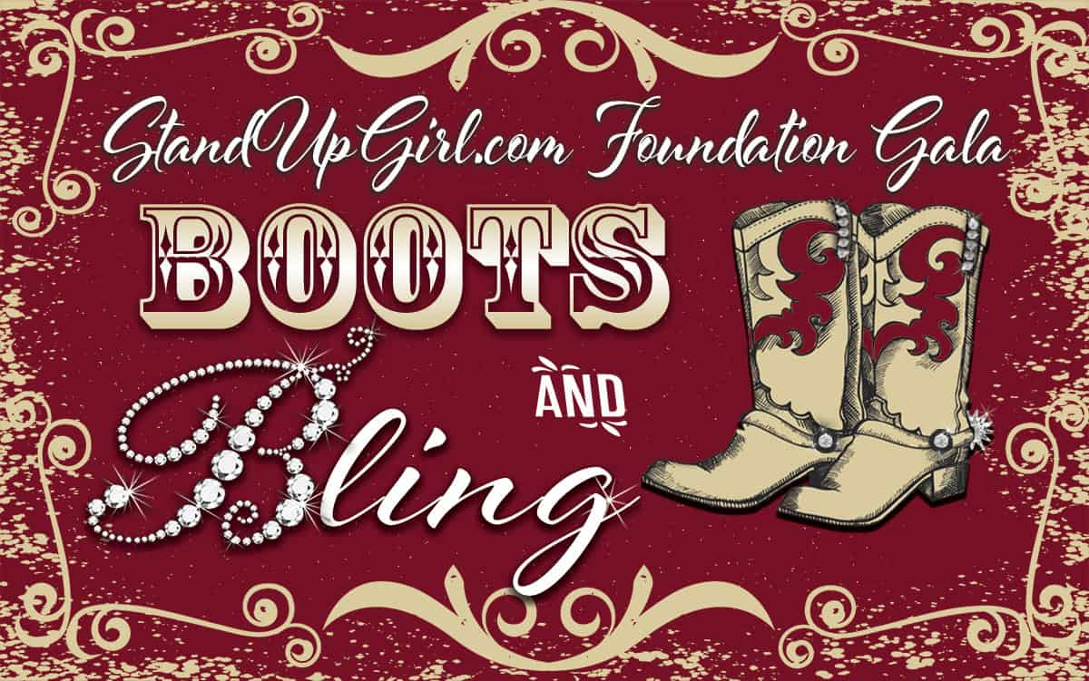 boots and bling gala standuppgirl.com