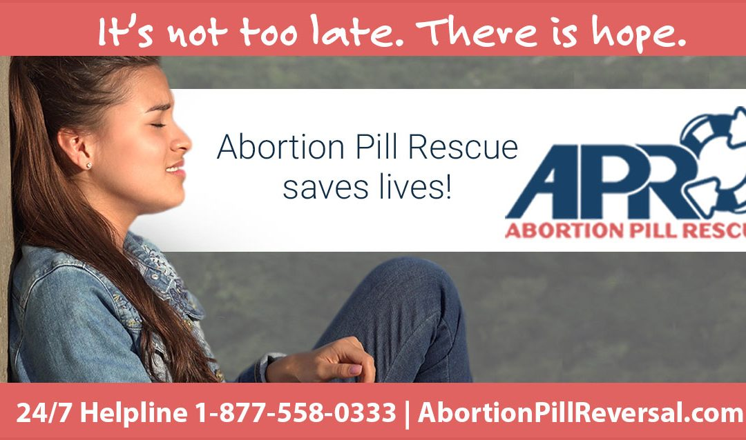 Abortion Pill Reversal IS Possible!